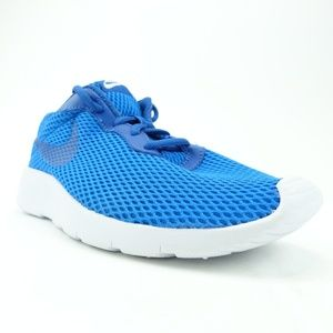 Nike Boys Youth Tanjun Sz 6 Blue Run Shoes R6S11-1